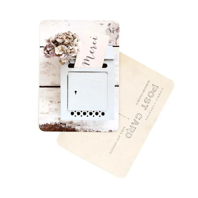 Carte MERCI letterbox